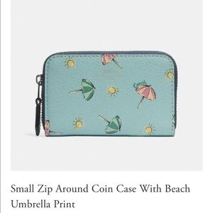 Coach Beach Umbrella Wallet